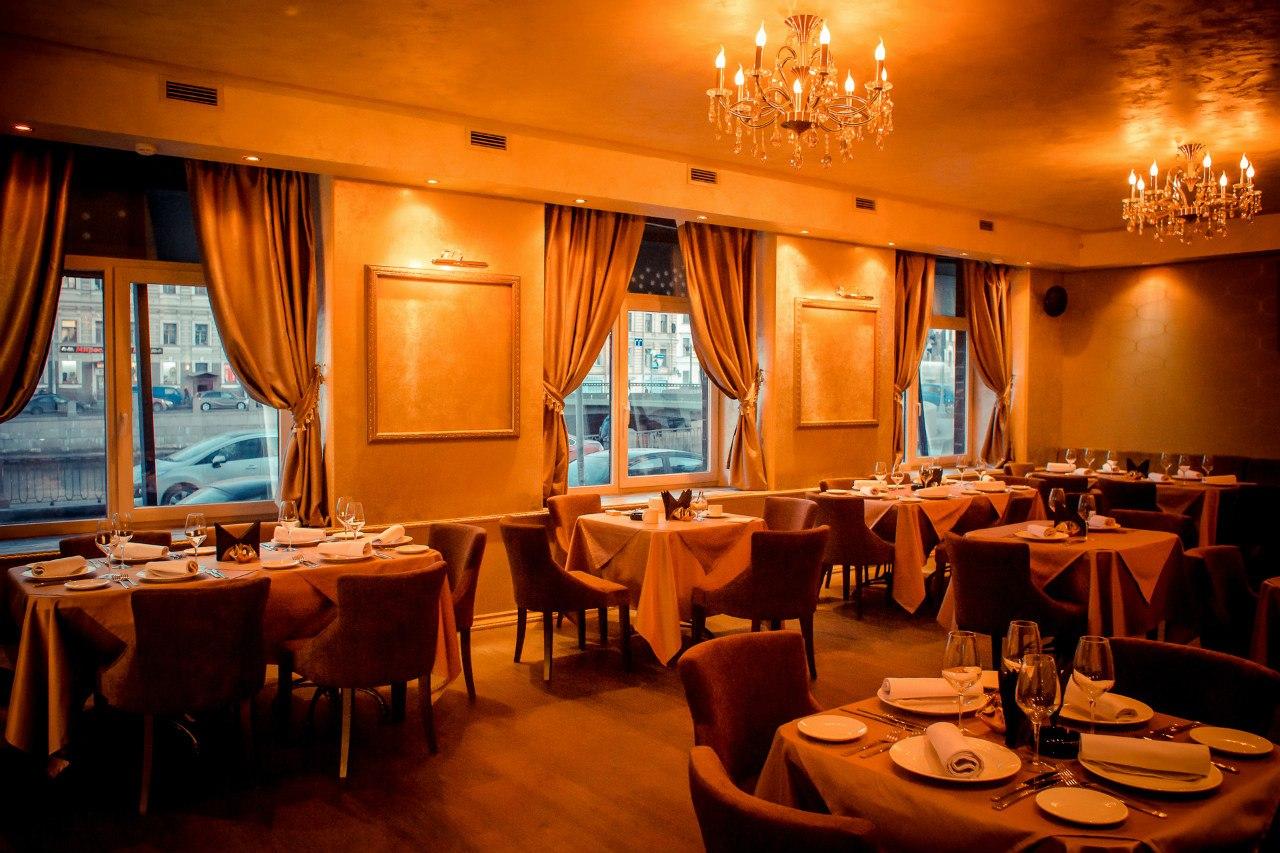 Ресторан фонтанка новый год
